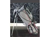 PING Carry Stand Golf Bag With Hood