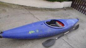 Prijon, pyranha invader kayak