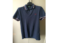 Fred Perry Men's Slim Fit Polo Shirt - Navy (Medium size / M)