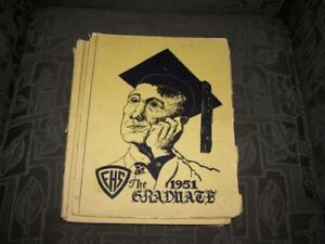 1951 Fredericton High School Yearbook