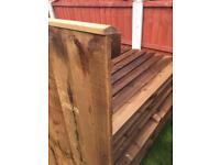 Fence panels £18