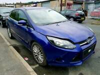 2014 Ford Focus 1.0 Eco boost Blue Manual 7000 Miles Damage Salvage Easy Repair