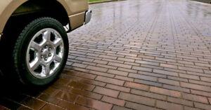 Driveway/Backyard Pavers and Interlocking: Unilock Permeable