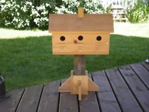 3 HOME BIRD HOUSE / MAISON D'OISEAU (3)