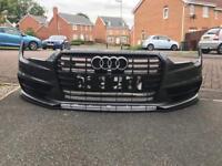 Audi A7 front bumper complete