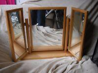 Pine Mirror for Dresser
