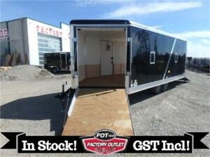 8.5 X 22 Drive-On/Drive Off Toy Hauler by Forest River! *TAX IN*