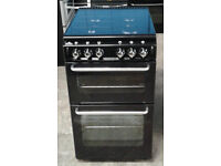 Y147 black new world 50cm gas cooker comes with warranty can be delivered or collected