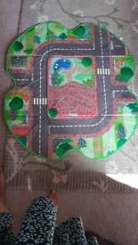 ELC Happyland Playmat which turns into storage box