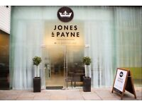 Jones & Payne Hair Salon Are Looking For Talented Stylist's & Technician's To Join Our Friendly Team