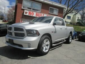 2013 RAM 1500 Sport leather, From $226 Bi Weekly, $0 Down, OAC