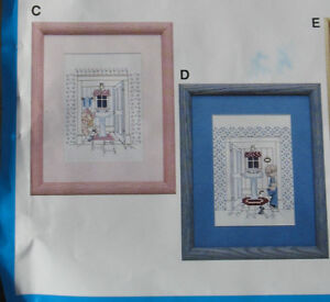 Girl or Boy Potty counted cross stitch