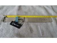 YISUYA High Quality Stainless Pin Buckle Steel Mesh Bracelet 24mm