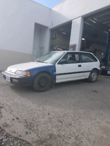 1990 Honda Civic hatchback 5speed