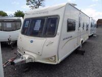 2009 Bailey Senator Indiana 4 Berth caravan FIXED BED MOTOR MOVER Awning Bargain