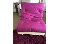 Wooden single futon only used once