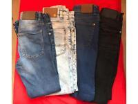 Boys skinny jeans Age 10/11