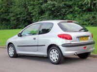 Peugeot 206 1.4 hdi __£790 - cheap first car, £30 road tax, long mot service history