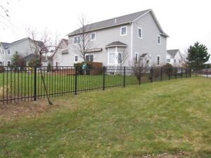 Aluminum Fence Material – Best Quality $59/Section!