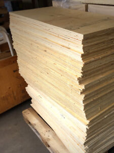 """3/8 """" or 1/2"""" plywood"""