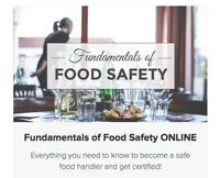 Manitoba Health Food Handlers Certificate Online Course