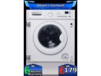 Fast 1400, Electrolux Top Spec, Integrated Washer Dryer, Fully Refurbished inc 6 Months Warranty