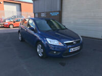 2008 58 FORD FOCUS 1.6 100 BHP STYLE,5 DOOR,104000 MILES WITH FULL SERVICE HIST