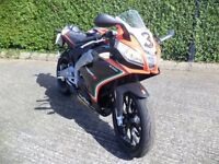 Aprilia RS 125 Max Biaggi Replica 2013 Motorcycle; 5,000 miles; MOT: June 2018; Toomebridge
