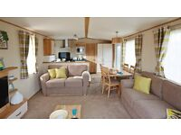 Platinum caravan for rent at Crimdon Dene