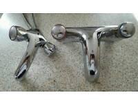 Wash basin mixer tap - £25 Bath mixer tap - £50