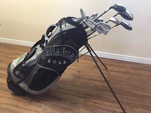 Men's Left-Handed Golf Set Lot