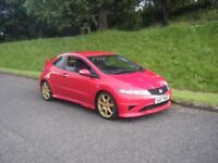 2007 HONDA CIVIC TYPE R FN2 NEW MOT FSH 78K SMART CLEAN EXAMPLE MAY PX NO OFFERS