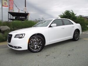 2016 Chrysler 300 300S ALL WHEEL DRIVE (3.6L V6, HEATED LEATHER,