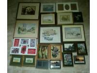 20 PICTURE/PHOTO FRAMES