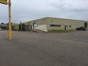 29000 sq ft of clean warehouse space for lease.
