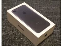 APPLE IPHONE 7 32GB Black, unlocked, brand new, sealed with 12 month warranty and receipt