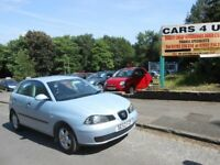 Seat Ibiza S 5 Door 1.2L with full service history its lovel car first time driver cheaper insurance