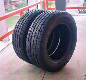Set of two 215/60/15 Firestone Affinity all season tires