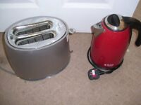 used kettle, toaster, cleaner