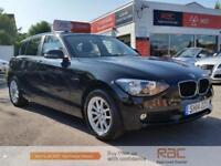 BMW 1 SERIES 116I SE 2014 Petrol Manual in Black