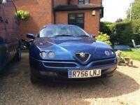 1997 R Alfa Romeo gtv t twin spark 16 valve 2.0 82,000 only