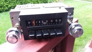 1980s Ford radio.
