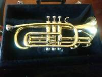 Blessing USA Cornet Brass Instrument w/ Original Hard Case