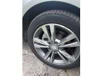 Genuine Mercedes-Benz 4 x 16 inch alloy wheels & GoodTyres will fit E class C class A Class