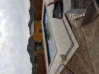 construction landscaping and fibreglass pools