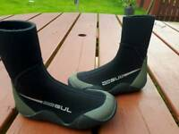 Child's Gul wetsuit boots