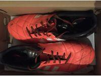 Men's soccer shoes, size 9 1/2 ACE 15.3 FG/ AG Leather