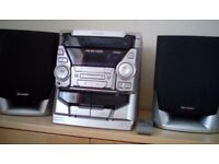 CD Sound System with tape and FM Radio