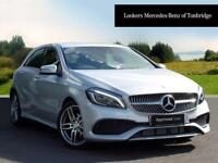Mercedes-Benz A Class A 200 D AMG LINE PREMIUM (silver) 2017-06-14
