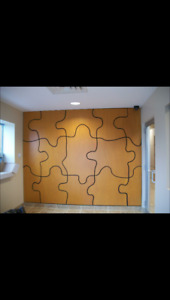 Puzzle Wall, make an offer...proceeds go to Rainbow Riders!
